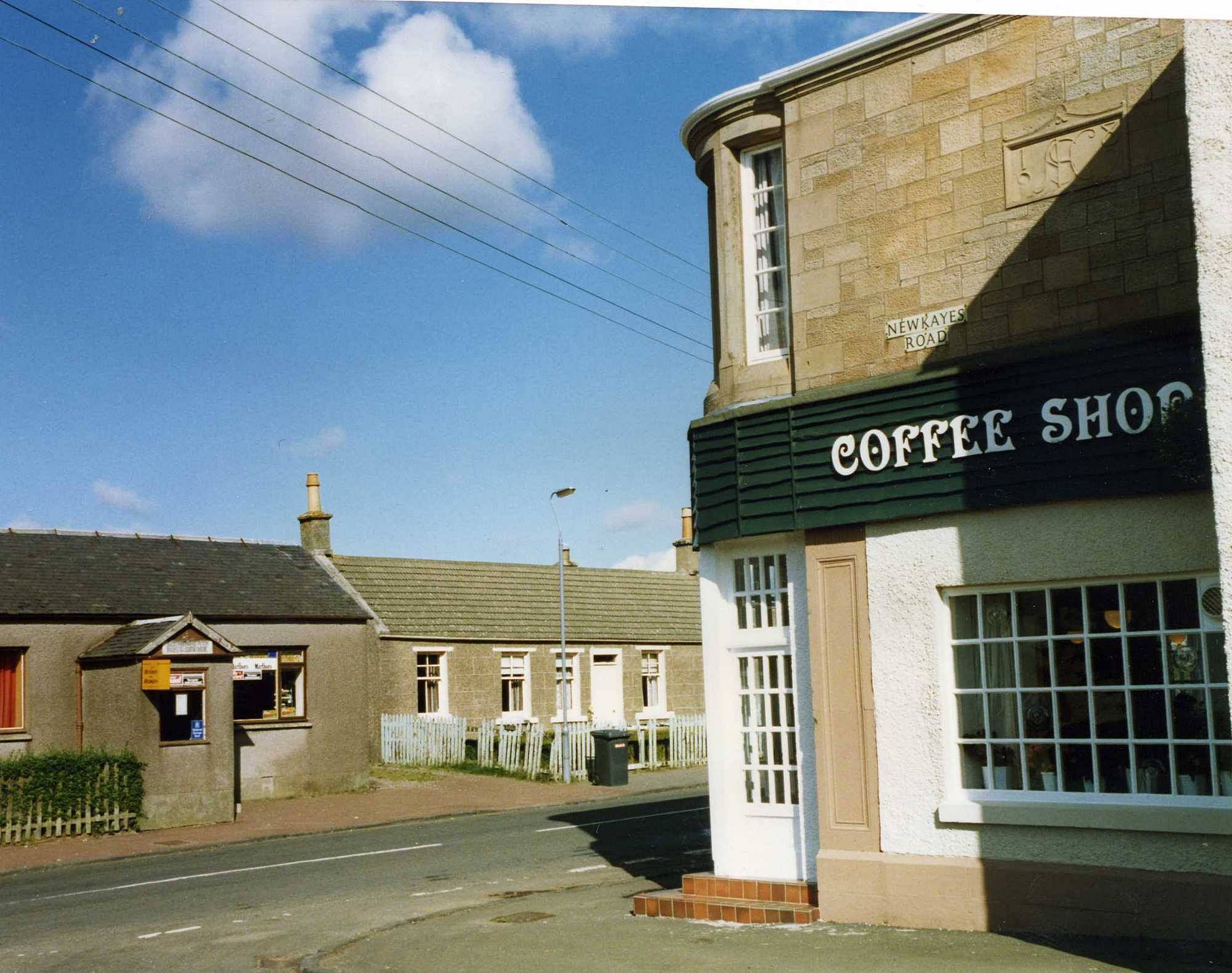 Post Office and Nethanvale Restaurant in 1994