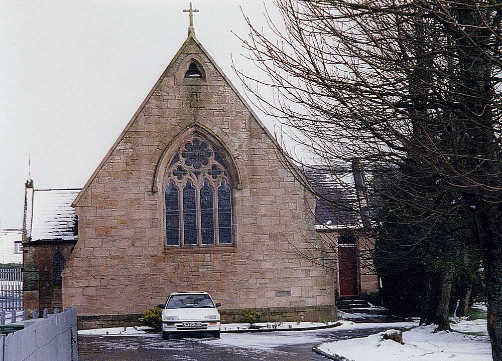 Photographs of Our Lady and St John's  Church, Blackwood