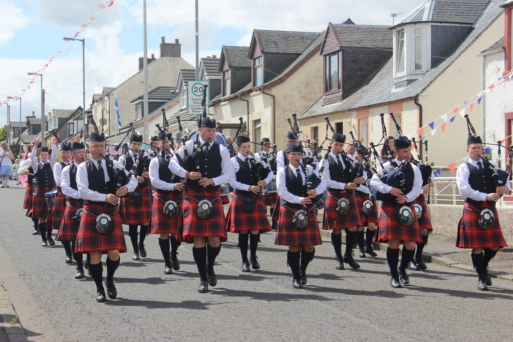 Coalburn IOR Pipe Band 2014