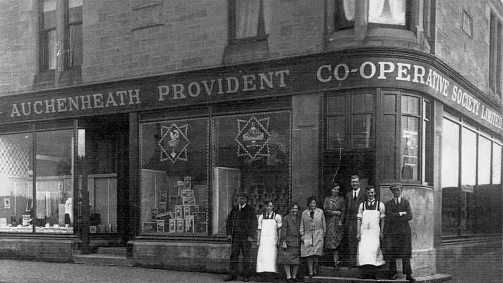 Auchenheath Provident Co-operative Society Auchenheath Branch