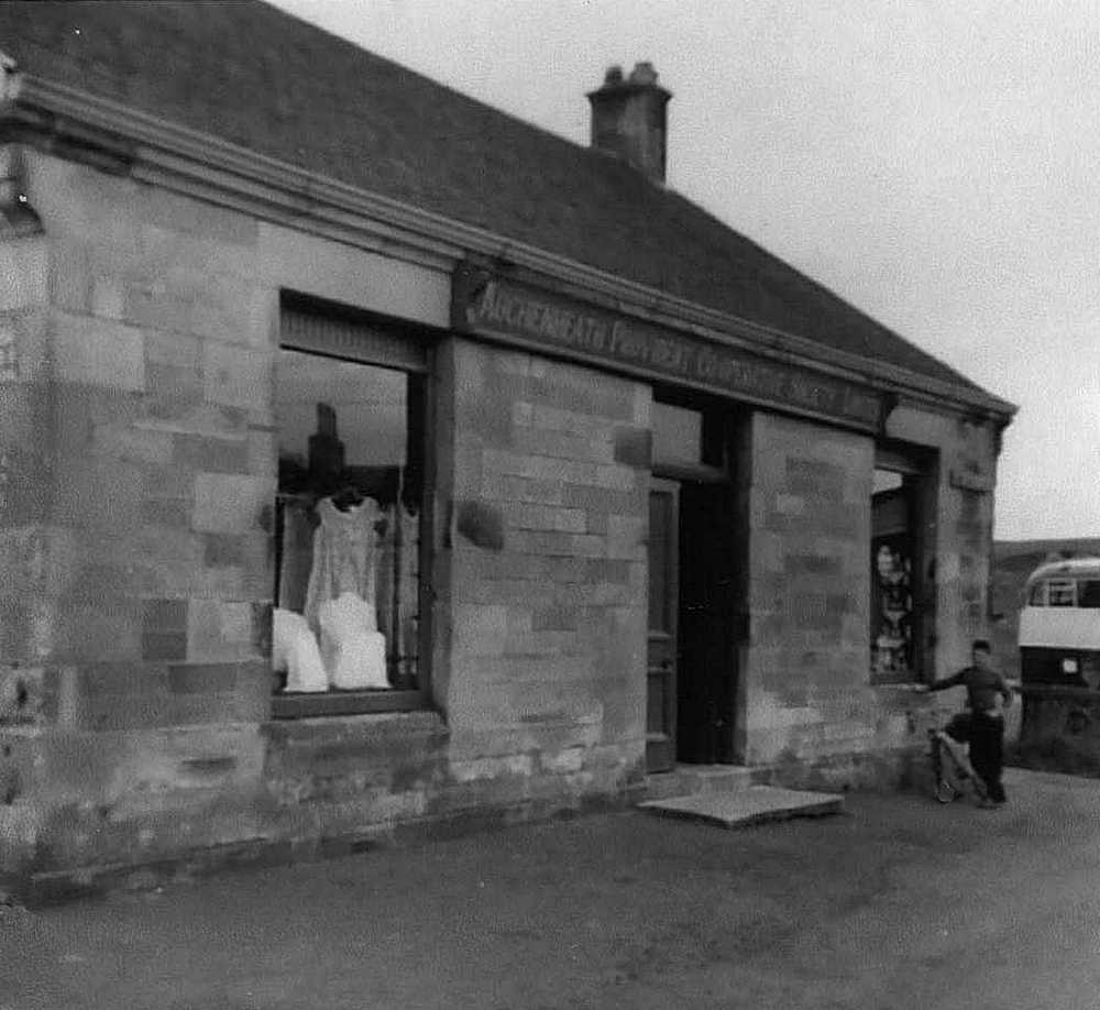 Auchenheath Provident Co-operative Society Coalburn Branch