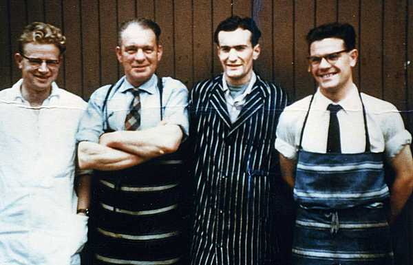 Fleshers (Butchers) in late 1950s