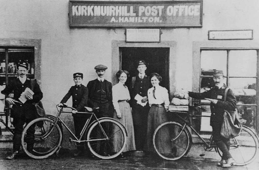 Post Office in Kirkmuirhill