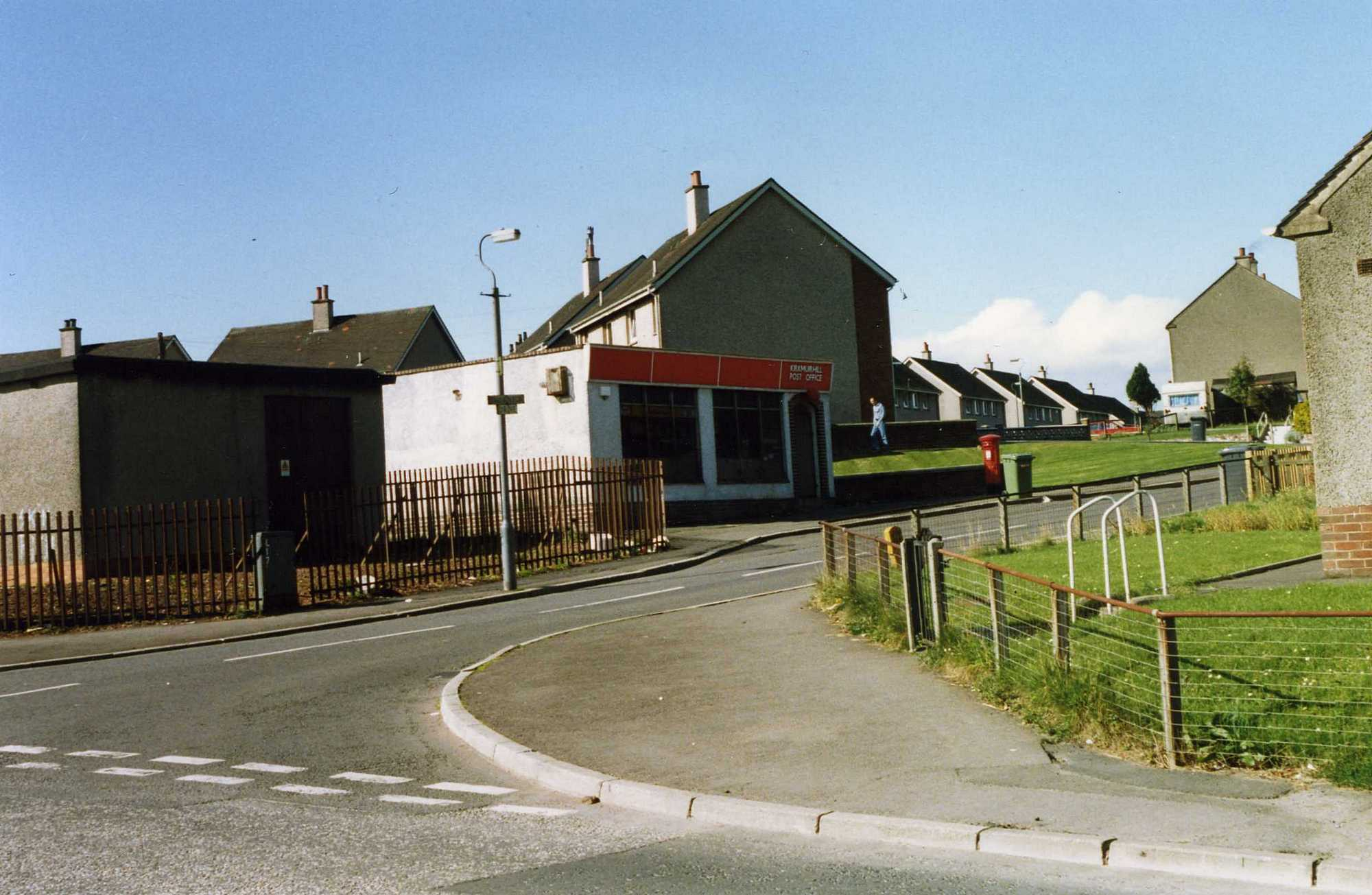 Post Office in Kirkmuirhill in 1993