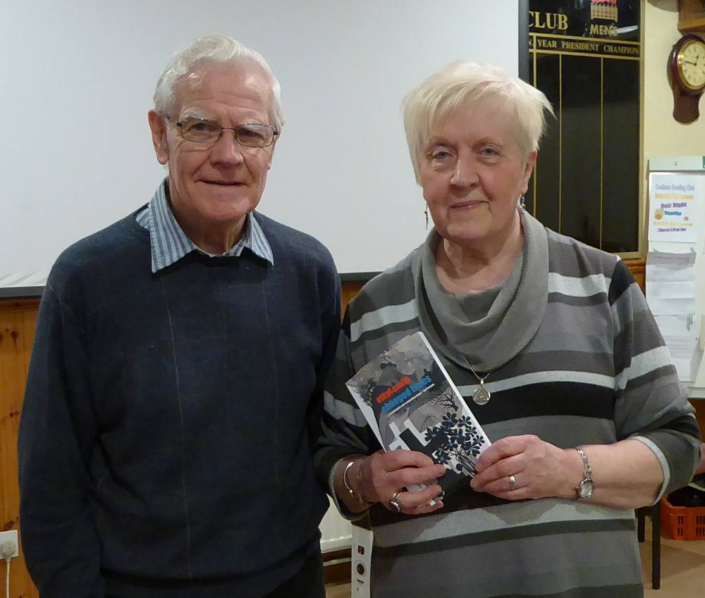 Peter McLeish with Ethyl Smith