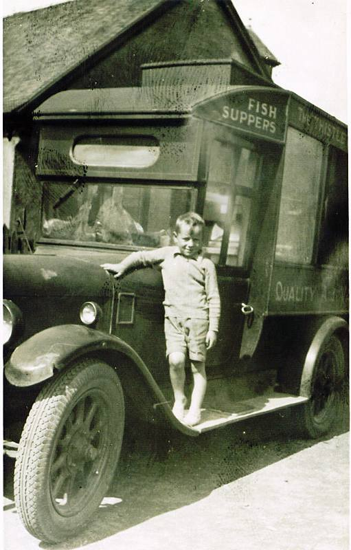 Mobile Fish and Chip van 1930s