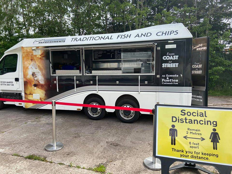 Mobile Fish and Chip van 2020