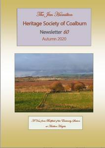 Cover of Autumn 2020 Newsletter